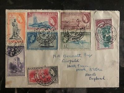 1965 Barbados First Day Cover To Hants England FDC