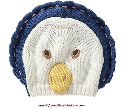 f26bf31dd8a Baby Gap NWT Multi-Color DUCK BEATRIX POTTER SWEATER BEANIE HAT CAP 0 3 6