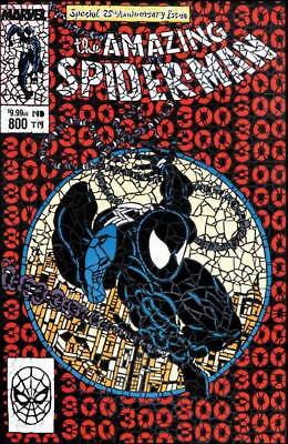 Amazing Spider-Man #800 Shattered Variant Mcfarlane Homage Venom Nm *in Stock*