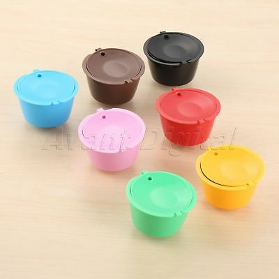 Coffee Filter Refillable For Nescafe Dolce Gusto Capsule 7 Colors 1/3x i Cafilas