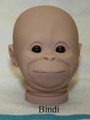 "BiNDi 16"" OrAnGuTaN KiT ~ 16""  DoLL KiT ~ REBORN DOLL SUPPLIES 3046"