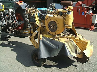 Vermeer 630A Stump Grinder 1049 Hours 1800 VAT 2160 Inc