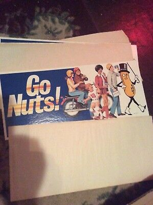 Rare Vtg Planters Peanuts Counter Display rack 1960's-1970's sign NOS