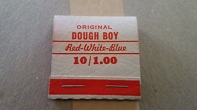 Vintage Dough Boy 1940s Gambling Trade Stimulators Pull Tab Match Pak SEALED BOX