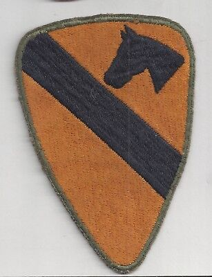 ORIGINAL WWII US ARMY ARMORED 1st CALVARY DIVISION PATCH