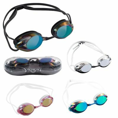 Adults Anti-Fog UV Protection Adjustable Swimming Swim Goggles Glasses Clear