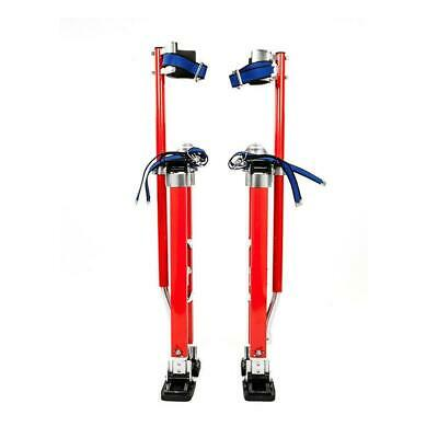 "Pentagon Tool Professional 24"" to 40"" Drywall Stilts Walk Highest Quality Red"