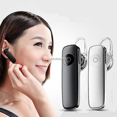Bluetooth Headset with Connectors USB Wireless Bluetooth Earphone Black/White