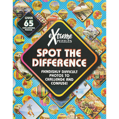 Extreme Puzzles - Spot the Difference (Paperback), Non Fiction Books, Brand New