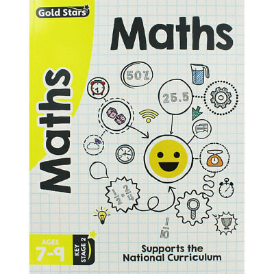 Gold Stars - Maths - Ages 7-9 by Parragon (Paperback), New Arrivals, Brand New