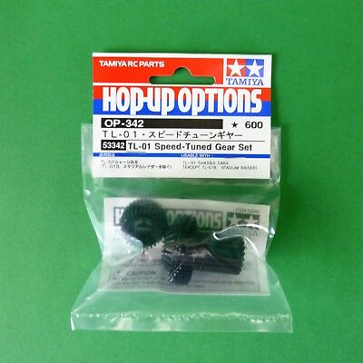 Tamiya Speed Tuned Gear Set for TL-01 also fit MF-01X MF01X & some HBX 1:10 RC