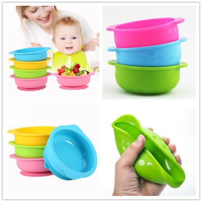 Feeding Baby Kids Silicone Mat Suction Table Food Tray Placemat Plate Bowl Dish