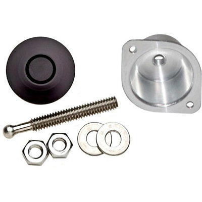 Quik-Latch QL-25-SBK Quik-Latch Mini Fastener And Bucket Kit Black Anodized Fini