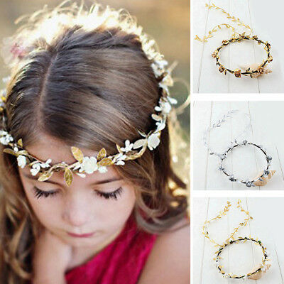 Kids Adults Festival Wedding Flower Head Band Garland Crown Photography Tools