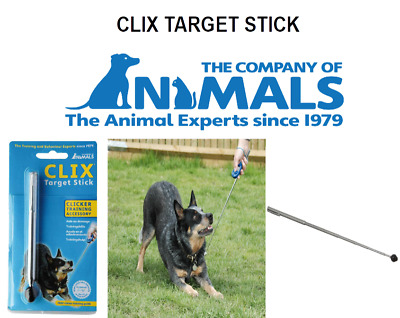 COA Clix Telescopic Target Stick Puppy Dog Pet Clicker 70cm Wand Training Aid