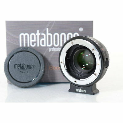Metabones NF - BMCC Speed Booster / Adapter für Nikon G an Blackmagic MFT