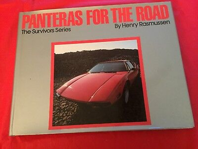 "1982 Book ""Panthers For The Road--The Survivors Series"" Henry Rasmussen Pantera"