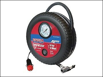 Faithfull Low Volume Tyre Inflator 12V FAIAUTYINFLO