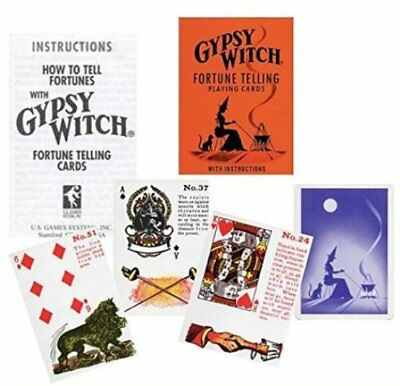SEALED Deck GYPSY Witch FORTUNE TELLING Cards USA SELLER Oracle Esoteric Tarot