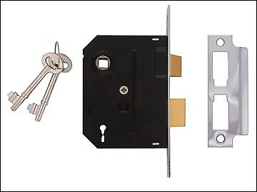 UNION 2295 2 Lever Mortice Sashlock Polished Brass 76mm 3in Visi UNNY2295PL30