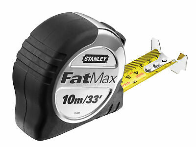 Stanley Tools FatMax Pro Pocket Tape 10m/33ft (Width 32mm) STA533896