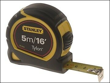 Stanley Tools Tylon Pocket Tape 5m/16ft (Width 19mm) Carded STA030696N