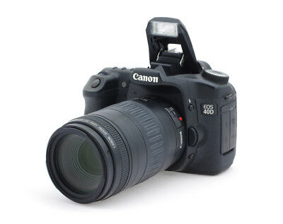 Canon EOS 40D 10.1MP Digital SLR Camera with EF 4.5-5.6/90-300 mm