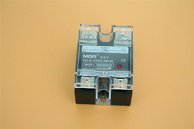 """New SSR-25DD 25A Solid State Relay Input 3-32V/DC Load 5-220V /DC  2.3x1.8x1.26"""""""