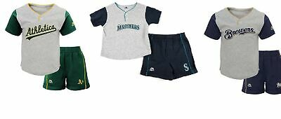 f6434f9ff8e MLB Infant Boy s Batting Practice Jersey   Shorts 2-Piece Set Shirt Short  Baby