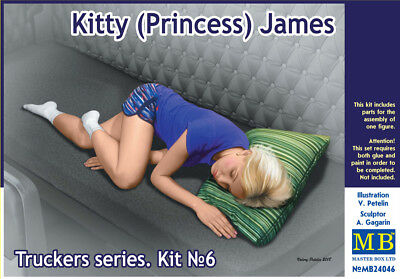 MASTER BOX™ 24046 Truckers Series: Kitty (Princess) James in 1:24