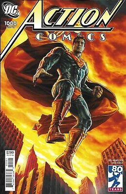 Superman Action Comics issue 1000 Limited 2000's Decades variant