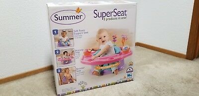 Summer Infant 3-Stage Superseat Highchair, Girl