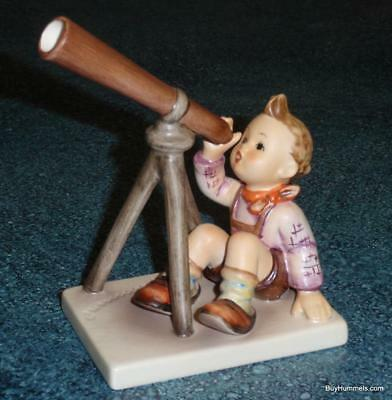 """Star Gazer"" Goebel Hummel Figurine #132 TMK6 Boy With Telescope Astronomy Gift!"