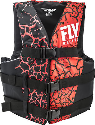 Nylon Lifejacket Red/Black 2X-Large Fly Racing 112224-100-080-18