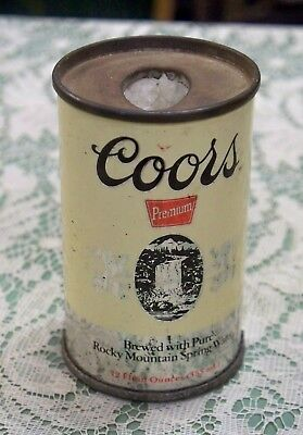 Vintage Coors Can Lighter Holder used empty Adolph Coors Company no lighter