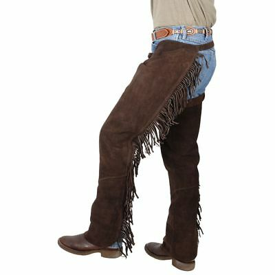 Horse Western Riding Tough-1 Western Fringed Chaps 92488P