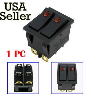New 16A 30A Canal R Series Electric Space Heater Rocker Switch Lakewood Delonghi