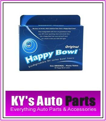 Happy Bowl Toilet Liners Brand New 8721