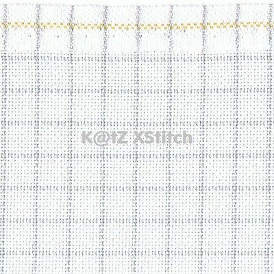 ZWEIGART EVENWEAVE 25ct EASY COUNT LUGANA CROSS STITCH FABRIC - Various Sizes