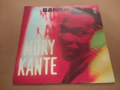 "Mory Kante "" Bankiero "" 7"" Single 1990 House Excellent P/S"