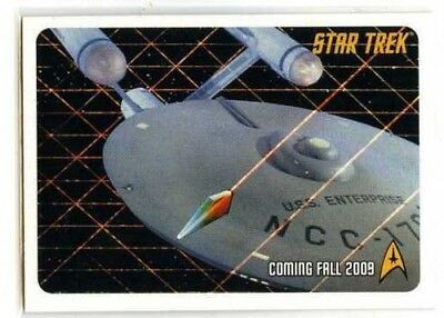 STAR TREK THE ORIGINAL SERIES  P2 Promo Card By Rittenhouse