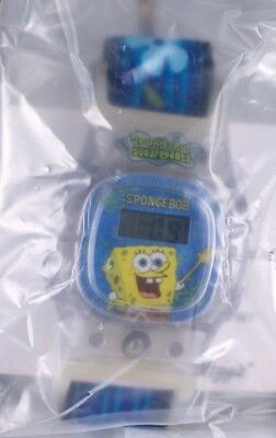 Kellogg's Cereal Watch Blue SpongeBob Squarepants New In Sealed Package