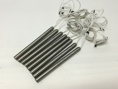 Lot of 8 VPM-470002 LDMX10-125F Cartridge Heater Element Rod 125W 220V 10mm x 5""