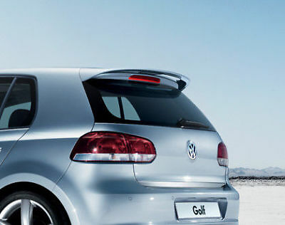 New Genuine Vw Golf Mk6 Hatchback Rear Accessory Tailgate Roof Spoiler