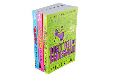 The It Girl 3 Books By Katy Birchall, Superstar Geek, Don't Tell the Bridesmaid,