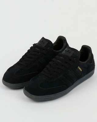 8fbeb5b8277 ADIDAS SAMBA OG Trainers in Black & Carbon suede, gum sole SALE Size 13 UK13