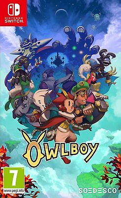 Owlboy (Switch)  BRAND NEW AND SEALED - IN STOCK - QUICK DISPATCH - FREE UK POST