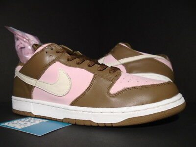 info for 9ab2d 77c5c 2005 NIKE DUNK Low Pro Sb Stussy Cherry Shy Pink Vanilla Brown 304292-671  10.5