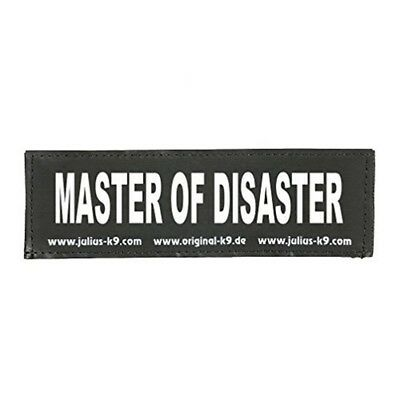 2 Julius-k9® Attachable Labels S, Master Of Disaster