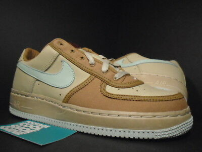 2005 Nike Air Force 1 Low IO INSIDEOUT DESERT CLAY BROWN ICE GREEN NET DS 9.5 8